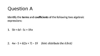 Solving One Step and Multi Step Equations