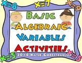 Basic Algebra with One Variable