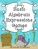 Basic Algebraic Expressions with one Variable Activities