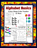 Basic Alphabet Curriculum for letter S - Preschool Lessons - Look for All Sets
