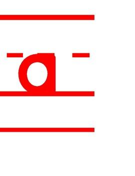 Basic Alphabet Line