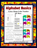 Basic Alphabet Program - Letter T - Preschool to Kindergar