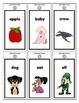 Basic Alphabet Ring Cards - Upper Case, Lower Case and Beg