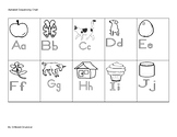 Basic Alphabet Sequencing Chart