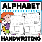 Basic Alphabet Practice Writing Sheets for Young Learners (Trace & Write)