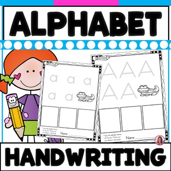Basic Alphabet Practice Writing Sheets for Young Learners