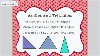 Basic Angles and Triangles