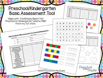 Basic Assessment for Preschool and Kindergarten