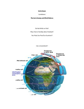 Basic Atmosphere and Global Wind Patterns Test