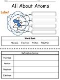 Basic Atom Worksheet PLUS Test (keys for both included)
