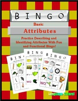 Basic Attribute Bingo