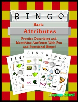 Basic Attribute Bingo