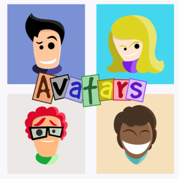 Basic Avatars - Pack 1 Clipart