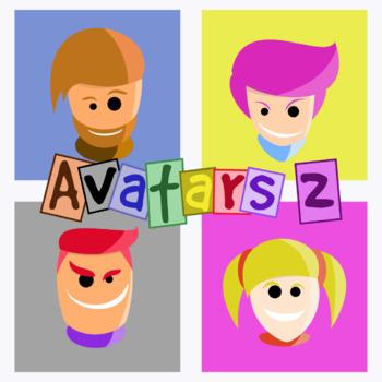 Basic Avatars - Pack 2 Clipart