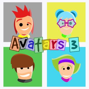 Basic Avatars - Pack 3 Clipart