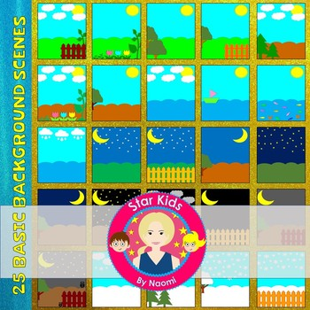 #TPTSparklers21 - Backgrounds Clipart {Commercial Use OK}