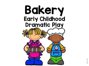 Bakery Dramatic Play Props