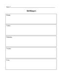 Basic Bell Ringer Sheet