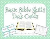 Basic Bible Skills Task Cards