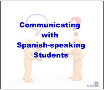 Communicating with Spanish-speakers