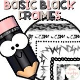 Basic Black Frames {Personal and Commercial Use}