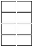 Basic Bold Flashcard Template
