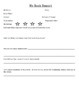 Basic Book Report Template