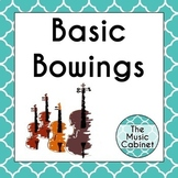 Basic Bowings for String Orchestra