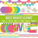 Basic Brights Clipart Set