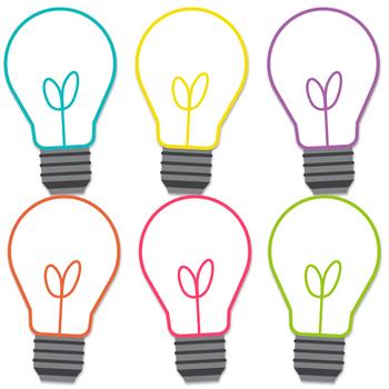 Basic Brights Lightbulbs Clipart
