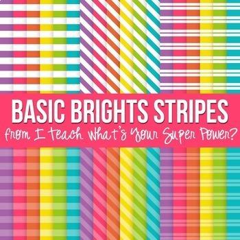 Digital Paper Basic Brights Bundle