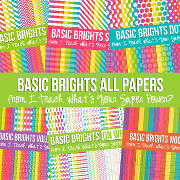 Basic Brights Mega Digital Paper Pack Volume 2