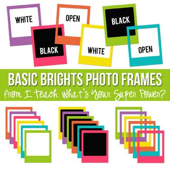 Basic Brights Photo Frames Set