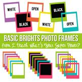 Basic Brights Photo Frames Set