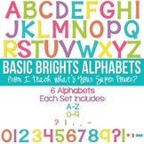 Basic Brights Set of 6 Alphas