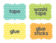 Basic Brights Supply Labels