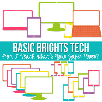 Basic Brights Tech Set