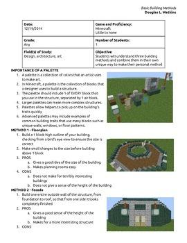 Basic Building Methods in Minecraft