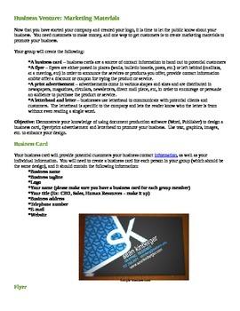 Basic Business - Entrepreneurship Unit