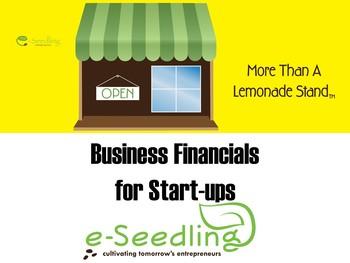 Basic Business Financials for Start-ups