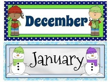 Classic Calendar Headers