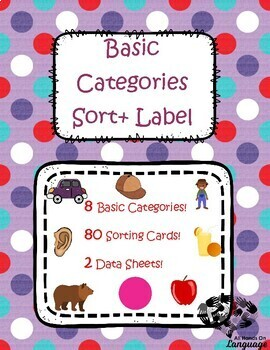 Basic Categories: Sort and Label