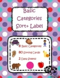Basic Categories: Sort and Label, Autism, Speech and Language