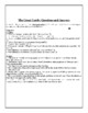 The Great Gatsby - Basic Level Chapter Questions With Answer Key