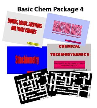 Basic Chemistry Package 4