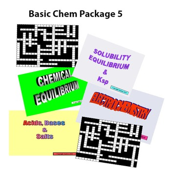 Basic Chemistry Package 5