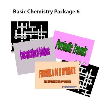 Basic Chemistry Package 6
