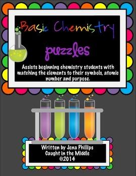 Basic Chemistry Puzzles