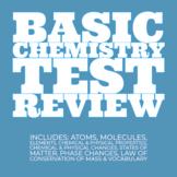 Basic Chemistry Test Review