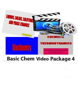 Basic Chemistry Video Package 4